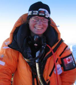Meagan on Summit of Mount Everest - IMG_2419